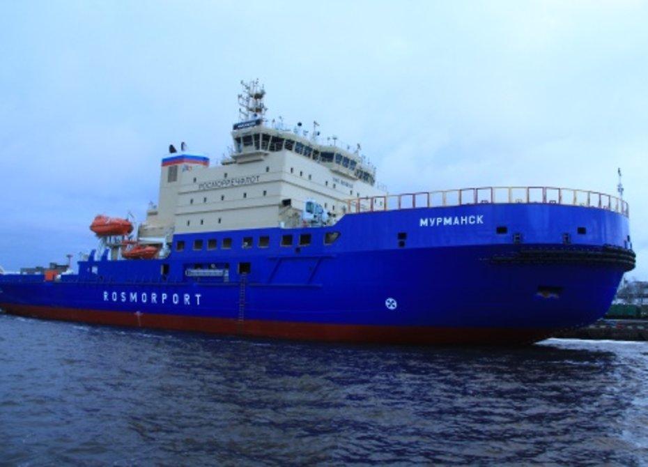 В порт Мурманск пришел ледокол-тезка