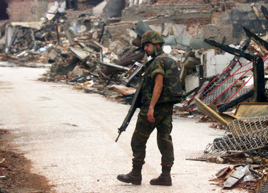 a narrative of nato and the united states 1999 civil war against kosovo In 1999, what stopped the fighting in kosovo between yugoslav forces and ethnic albanians nato air strikes forcd yugoslav troops to leave kosovo what helped to bring about the 1975 civil war in labanon.
