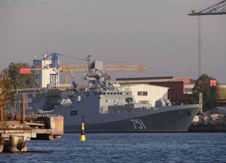 Сегодня сторожевой корабль «Адмирал Эссен» покинул Североморск