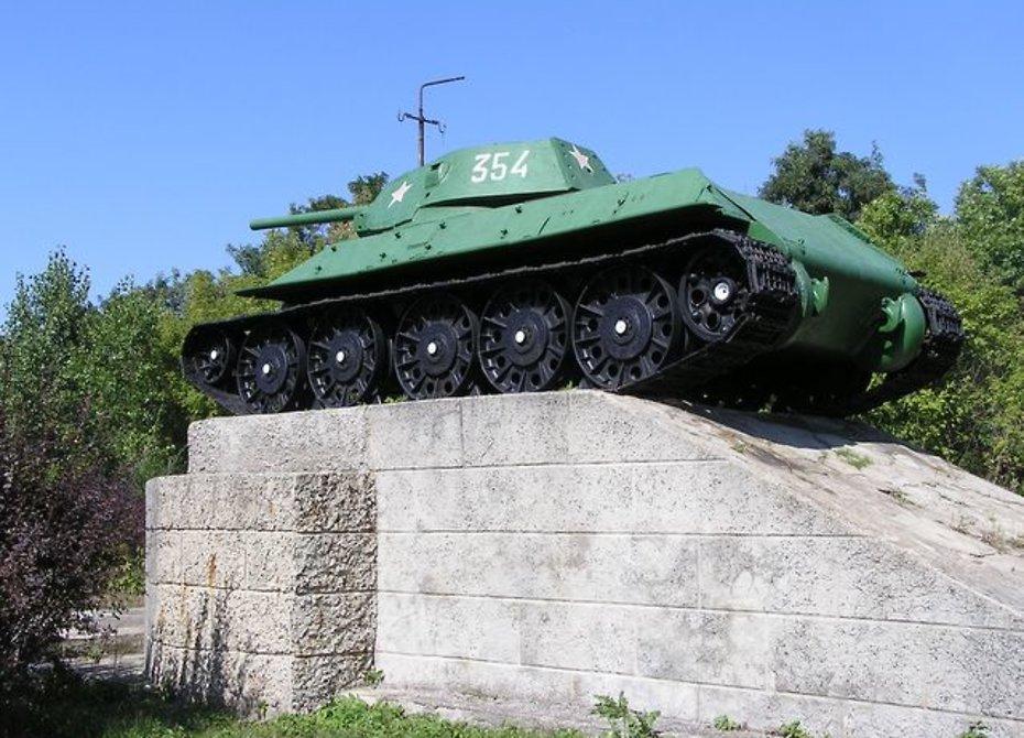 Необычайный танк Т-34-76 подняли содна Дона