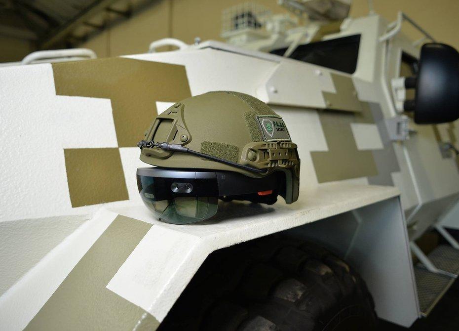 Украинцы создали боевой «виртуальный шлем»