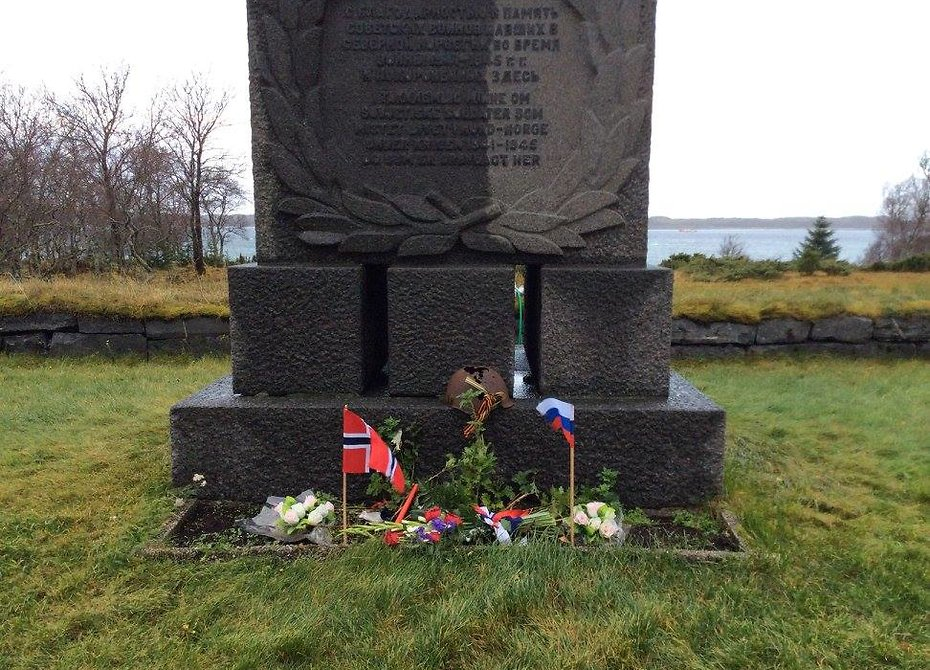 В Норвегии открыли обновленный мемориал павшим советским военнопленным