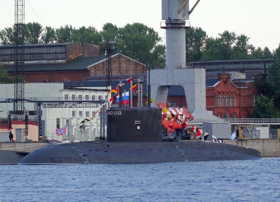 Последнюю изсерии подлодок для Черноморского флота передадут ВМФ в северной столице