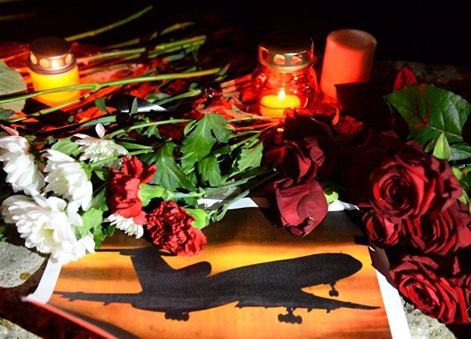В России объявлен траур по погибшим при крушении самолета Ту-154