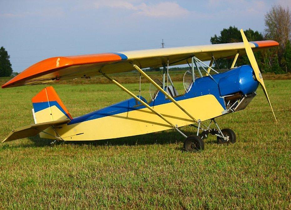 Новосибирскому пенсионеру запретили летать на самолете из дерева