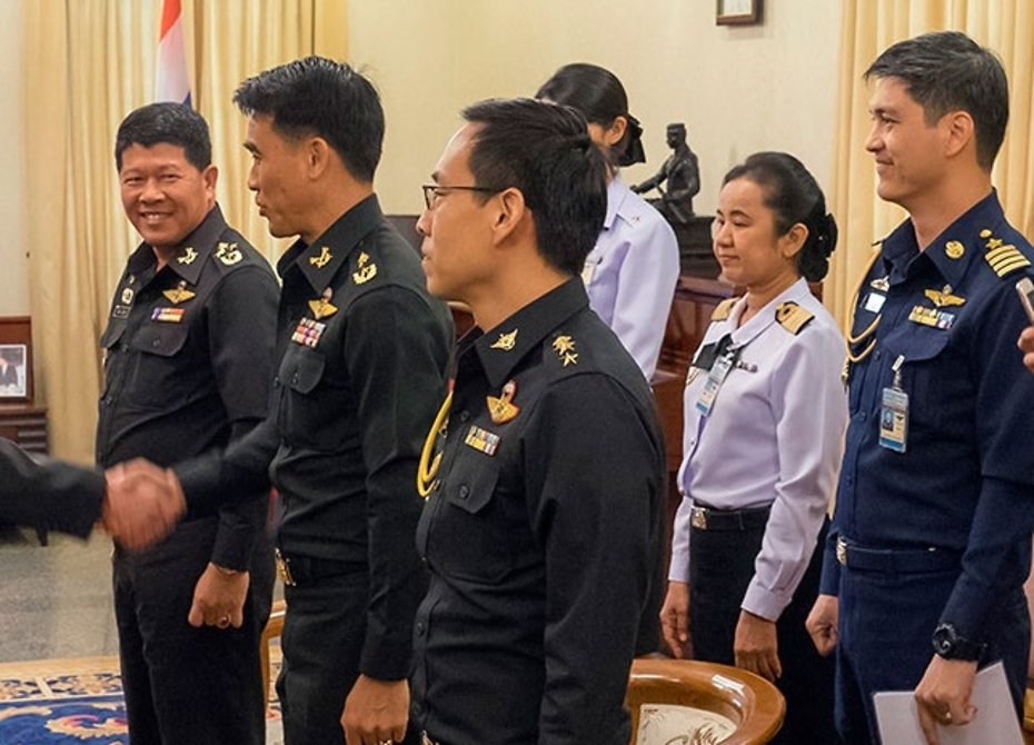 Офицеры из Таиланда обучатся в российских военных вузах