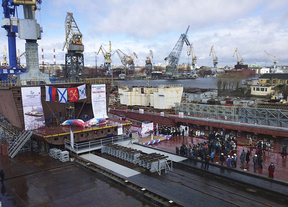 Первый патрульный ледокол для ВМФ будет назван «Иван Папанин»