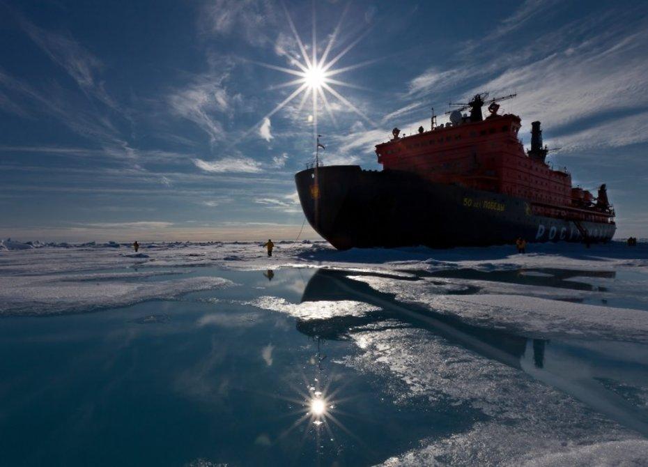 В Российской Федерации протестируют необычайный лазер для разрезания льдов Арктики