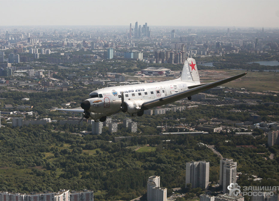 Над Москвой «засекут» летящие на малой высоте самолеты
