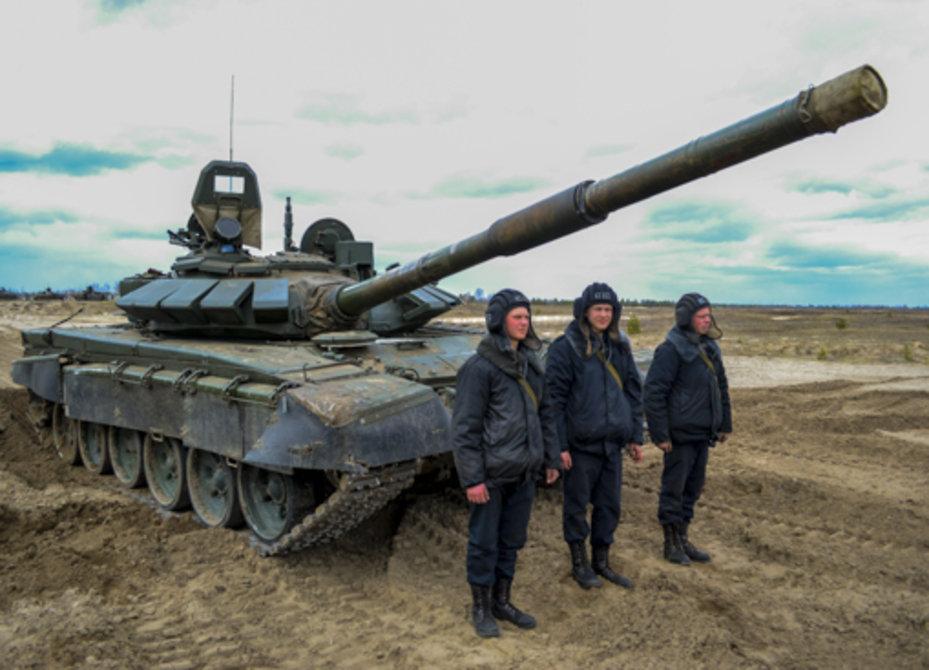 Первую танковую армию усилили двумя десятками новых Т-72Б3