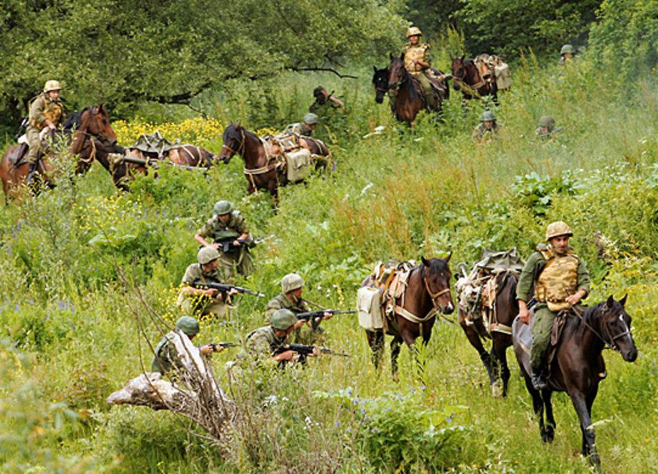 Лошадей горной бригады ЮВО «переобули» на летние подковы