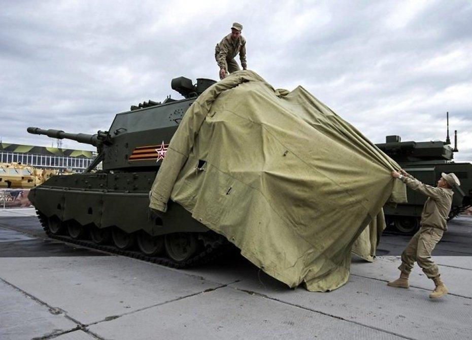 Для русских военных изобрели «плащи-невидимки»