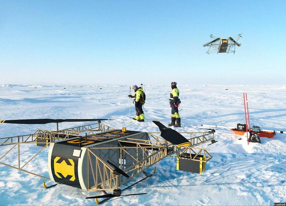 «Русский Халк»: новый российский дрон похвалили наБританских островах