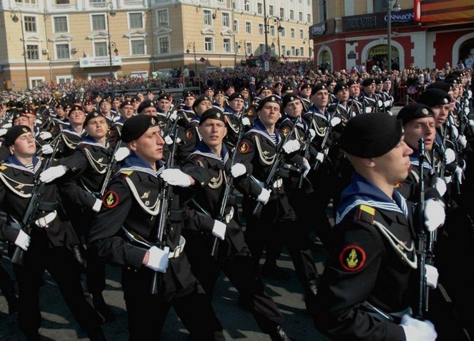 312 лет морской пехоте ВМФ Российской Федерации
