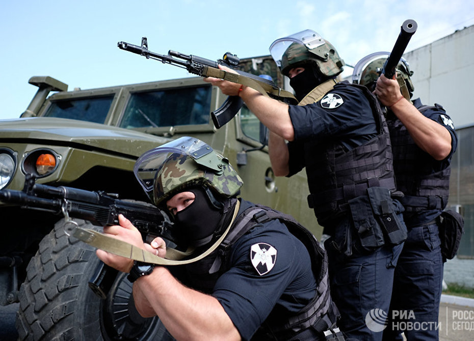 Росгвардия установит наформу собственных бойцов видеорегистраторы