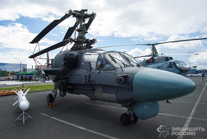 Ка-52К с ракетой Х-35У