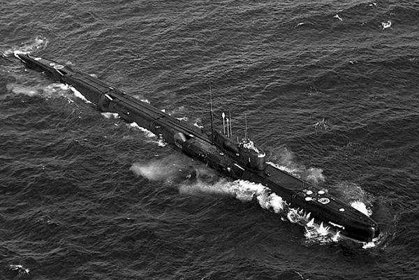 Рекорд скорости среди подводных лодок
