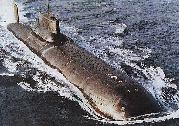 Августа 1985 года атомная субмарина к
