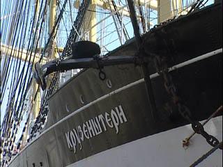 Один из крупнейших парусников нашего времени, носящий имя Ивана Крузенштерна