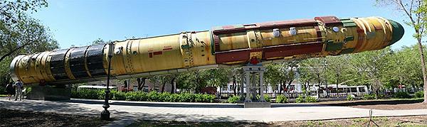 Межконтинентальная баллистическая ракета Р-36М2 «Воевода»