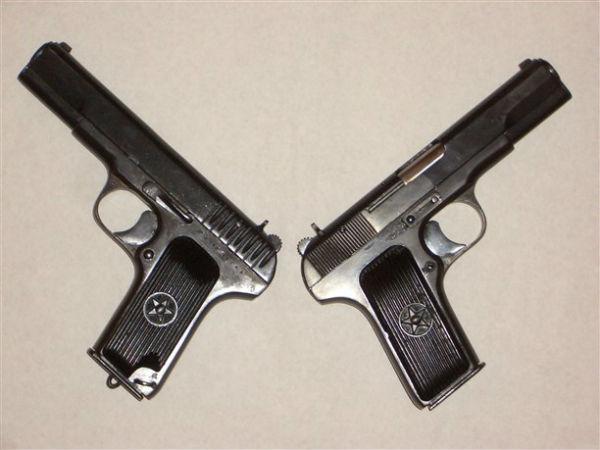 Сравнение пистолетов ТТ военного и послевоенного выпуска