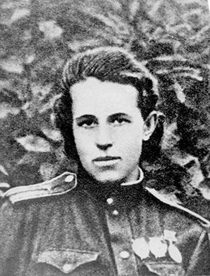 Летчица Анна Егорова