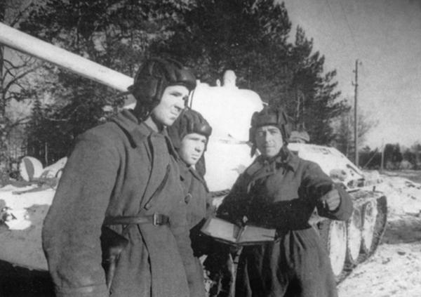 Танковый экипаж Дмитрия Лавриненко