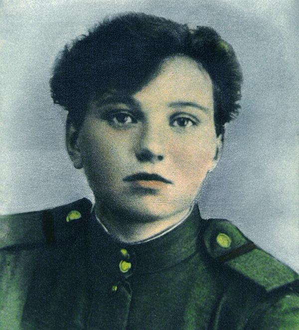 Валентина Бояршинова во время войны