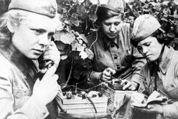 Военные связисты Великой Отечественной