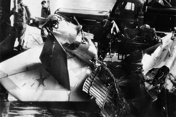 Обломки Як-28