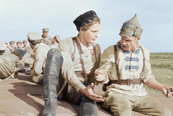 Кадр из фильма «Офицеры», 1971 год