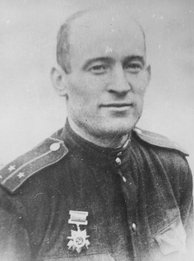 Лейтенант Александр Мамкин