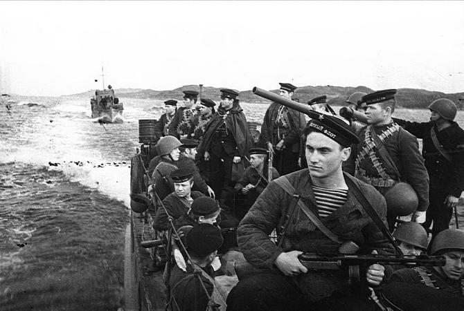 Морские пехотинцы Северного флота