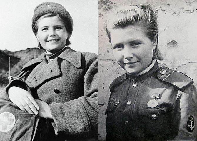 Екатерина Михайлова в годы войны