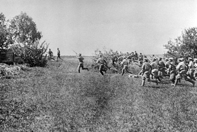 Штыковая атака, Первая мировая война